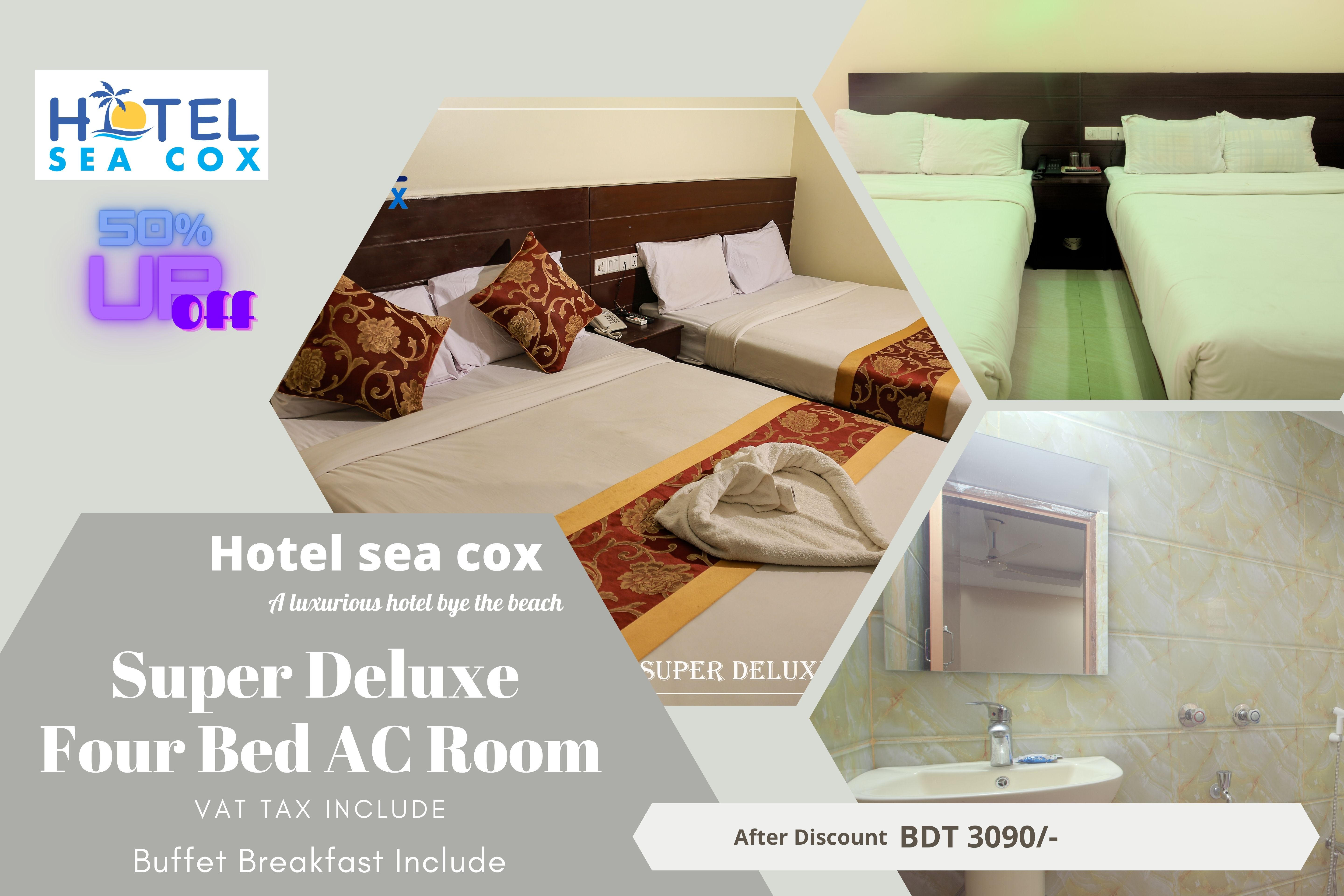 SUPER DELUXE FOUR BED  (AC)